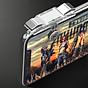 Bộ 2 Nút Chơi Game Pubg Mobile, Ros, Cf Dòng E9 Trong Suốt (Đỏ Hoặc Bạc) 6