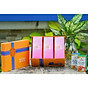 Combo 3 hộp thực phẩm chức năng đông trùng hạ thảo hector collagen và hộp quà đi kèm sang trọng, chắc chắn phù hợp cho tặng quà, đem biếu dịp lễ, dịp Tết, dịp đặc biệt. thumbnail