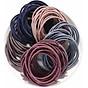 Set 100 dây chun buộc tóc trơn các màu 2
