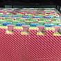 Bộ thảm xốp nhiều màu combo 6 miếng thumbnail