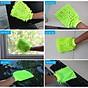 Bộ 2 chiếc găng tay lau rửa xe chuyên dụng đa năng thấm hút tốt (Màu ngẫu nhiên) 8