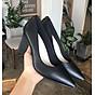 Giày búp bê mũi nhọn 7 phân gót tam giác hàng công ty đẹp chất S045 thumbnail