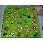 Thảm xốp ghép tranh hoa quả 1 Bộ 4 miếng 60x60cm thumbnail