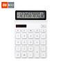 Xiaomi Youpin KACO LEMO Desktop Calculator Photoelectric Dual Drive 12 Number Display Intelligent Shutdown For School thumbnail