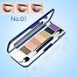 Phấn mắt 8 ô siêu mịn Mira Aroma Shadow Palette 8 Colors Hàn Quốc (2g x8) No.1 tặng kèm móc khoá 2