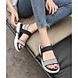Giày sandal Quai kẻ ngang đế mềm êm - Hàng Đẹp 2