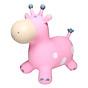 Đồ chơi thú nhún bò sữa Màu hồng cho bé dễ thương thumbnail