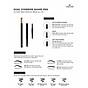 Chì Kẻ Mày Định Hình Đa Năng Vacosi Dual Eyebrow Shape Pen 8