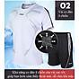 Bộ quần áo thể thao nam ngắn tay nhanh khô thể dục thể thao thoáng khí - NB001 6