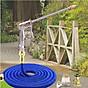 Vòi nước giản nở đa năng đầu đồng rửa xe tưới cây 7.5m thumbnail