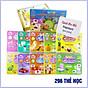 Bộ thẻ học thông minh loại TO 296 thẻ song ngữ với 20 chủ đề thumbnail