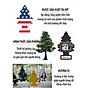 Cây Thông Thơm Little Trees Túi Thơm Treo Phòng, Ô tô ( Có nhiều hương lựa chọn ) - Hàng Chính Hãng TDVN 2