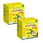 COMBO 2 hộp Viên Canxi K2 Moringa - Bổ sung Canxi và Vitamin K2, tăng chiều cao, chống còi xương ở trẻ em - Hộp 8 gói 1