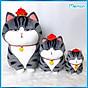 Gấu Bông Mèo Hoàng Thượng Cao Cấp Memon thumbnail