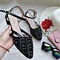 Giày sandal nữ quai ngang Phong Cách Hàn Quốc S102 thumbnail