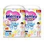 Combo 2 Tã bỉm quần Merries size L - 44 + 6 miếng (Cho bé 9 - 14kg) thumbnail