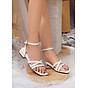 Giày Sandal Nữ Quai Chéo cao 3cm 3