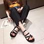 Dép Sandal Nữ Đế Bằng Tết Sam Quai Chéo Xinh Xắn 5001 4
