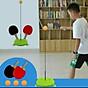 Bộ bóng bàn luyện tập phản xạ vợt cán gỗ cho bé vui chơi mọi lúc mọi nơi 5