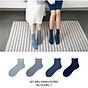 Set hộp 4 đôi tất nữ cổ cao chất liệu cotton cao cấp,họa tiết gam xanh dương trơn màu chuyển cute dễ thương, hàng chính hãng NICESOKS - hộp đẹp cao cấp phù hợp làm quà tặng - NS19183FL- 7 thumbnail