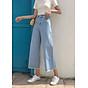 quần jean nữ, quần bò nữ ống rộng 4