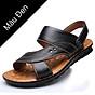 Giày Sandal phong cách thời trang Nhật Bản đế mềm chất liệu da bò thật phù hợp với các mùa trong năm mã 12129 1