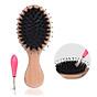 Combo lược chải tóc massage da đầu chống tĩnh điện kèm dụng cụ lấy tóc rụng XM28 3
