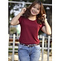 Áo phông trơn GOKING form ôm đẹp cho nữ, chất liệu thun 100% cotton siêu thoáng mát thumbnail