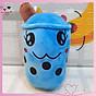 Gấu bông trà sữa SALE siêu cute, chất liệu vải nhung Hàn Quốc size nhỏ Thú nhồi bông mini nhiều màu dễ thương thumbnail