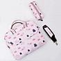 Túi xách công sở nữ cao cấp J.QMEI J005 túi đựng laptop, túi đựng macbook chống sốc chống nước - Hàng Chính Hãng thumbnail