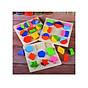 Đồ chơi gỗ giáo cụ Montessori combo 3 bảng lắp ghép hình khôi cho bé thumbnail