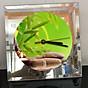Đồng hồ thủy tinh vuông 20x20 in hình Buddhism - đạo phật (70) . Đồng hồ thủy tinh để bàn trang trí đẹp chủ đề tôn giáo thumbnail