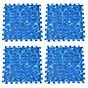 Combo 4 tấm Thảm xốp lót sàn an toàn Thoại Tân Thành hình sóng biển xanh dương (60x60cm) thumbnail