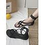 Giày Sandal Chiến Binh Xỏ Ngón Đế bệt 2