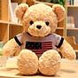 Gối ôm gấu bông mặc áo len siêu đẹp, Gấu bông sang trọng, Đồ chơi thú bông thumbnail