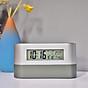Đồng hồ để bàn kiêm hộp đựng bút đa năng ( Tặng kèm 01 đèn led cắm cổng USB ngẫu nhiên ) thumbnail