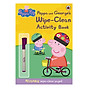 Peppa Pig Peppa and George s Wipe-Clean Activity Book - Peppa Pig (Paperback) thumbnail