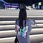 Áo Thun cặp Nam-Nữ in HÌNH BƯỚM ĐÊM cực dễ thương , thích hợp cho các cặp đôi trẻ trung, năng động, cho các nhóm bạn đi đêm, đi phượt, bão, nhìn đã mắt, bao ngầu, bao chất (mặc định Nam đen nữ trắng) 5