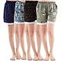 Combo 4 quần short nữ hoạ tiết thổ cẩm Phúc An 3014 thumbnail