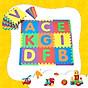 Thảm xốp lót sàn cho bé - chữ cái + viền ngoài (26 miếng, diện tích 2.5m2) Smile Puzzle_KHÔNG MÙI TIÊU CHUẨN CHÂU ÂU thumbnail