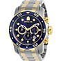 Invicta Men s 0077 Pro Diver Chronograph Blue Dial Watch thumbnail