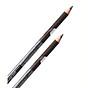 Chì vẽ mí mắt Aroma Eyeliner Pencil Hàn Quốc No.101 Black tặng kèm móc khoá 3