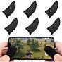 Bộ 2 bọc ngón tay cảm ứng chơi game mobile thoáng khí chống trượt ra mồ hôi và xây xước màn hình thumbnail