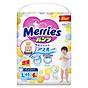 Bỉm tã quần Merries size L 44+6 (50 miếng) thumbnail
