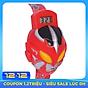 Đồng hồ điện từ trẻ em Skmei 1239 siêu nhân dây cao su (Đỏ) thumbnail