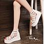 Giày Sandal đế xuồng Phong Cách Hàn Quốc 2