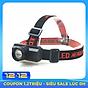 Đèn Pin Đội Đầu Headlamp Chiếu Sáng Xa Tích Hợp Cổng Sạc USB thumbnail