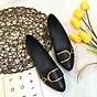 Giày bệt búp bê nữ đính khóa xinh xắn hàng VNXK siêu bền CT2 thumbnail