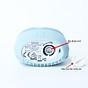 Máy rửa mặt silicone chạy pin MINISO SILICONE FACIAL CLEANER kết hợp làm sạch sâu và mát xa thư giãn nhờ xung động âm (xanh ngọc nhạt) chính hãng - MNS058 4