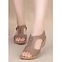 Dép sandals da nữ DK.6 Be thumbnail